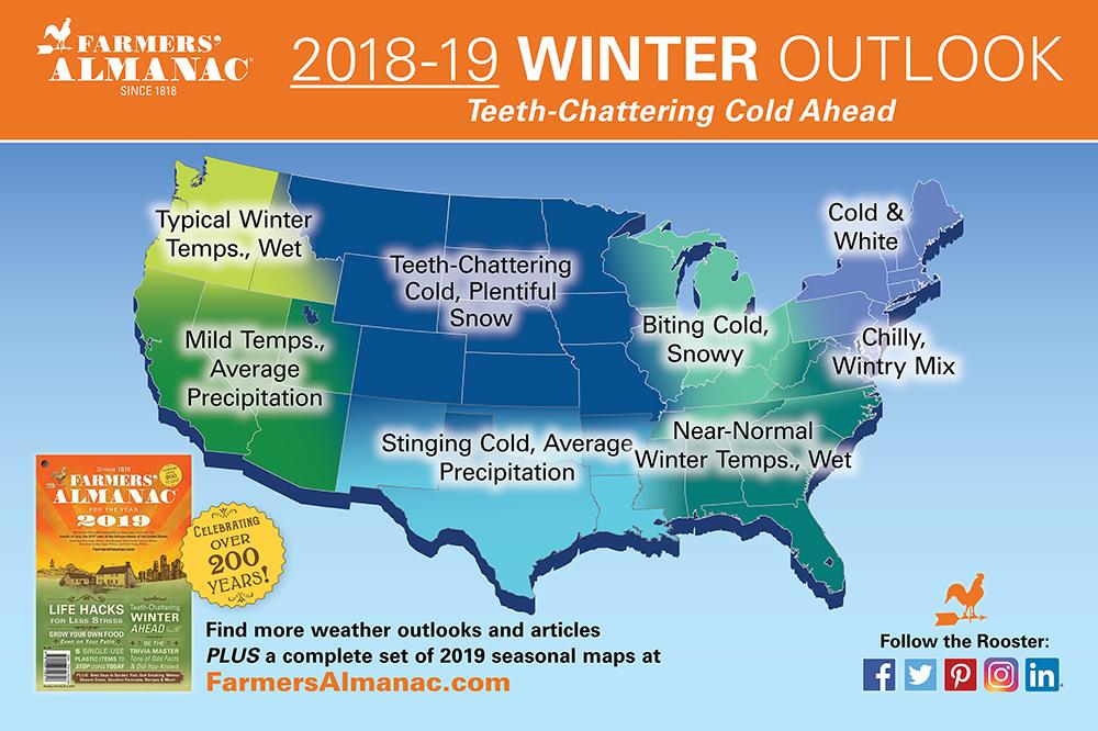 farmers 39 almanac 2018 19 winter outlook snowbrains. Black Bedroom Furniture Sets. Home Design Ideas
