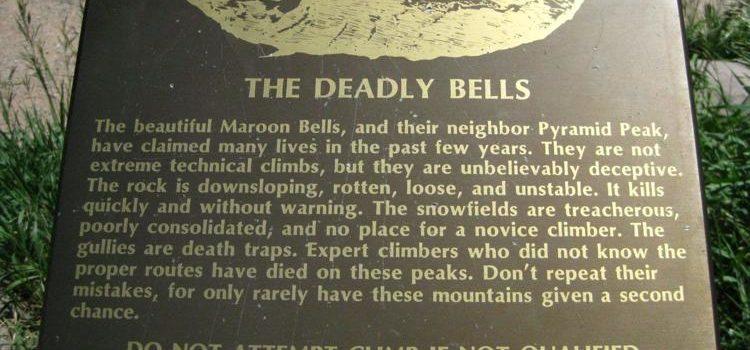 maroon bells, 14er, sign stolen, stolen, theft, colorado, aspen