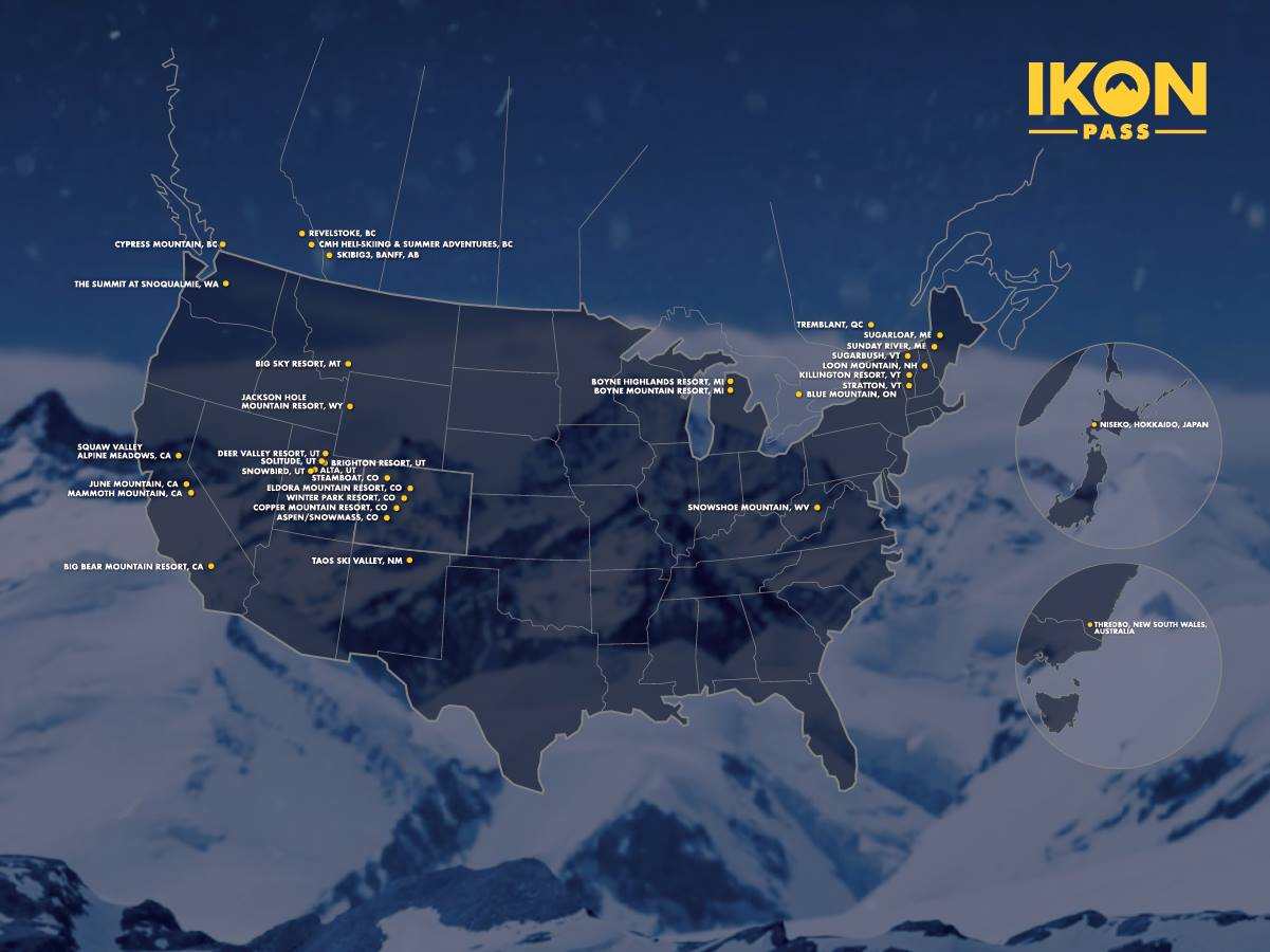 Image of: Ikon Pass Utah Unparalleled Access To 10 000 Acres Of The Greatest Snow On Earth Snowbrains
