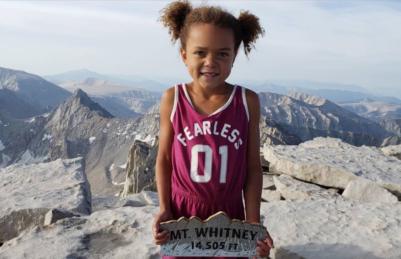Courtesy of People Magazine and Amie Harper: https://people.com/sports/girl-climbs-tallest-mountain-in-united-states/