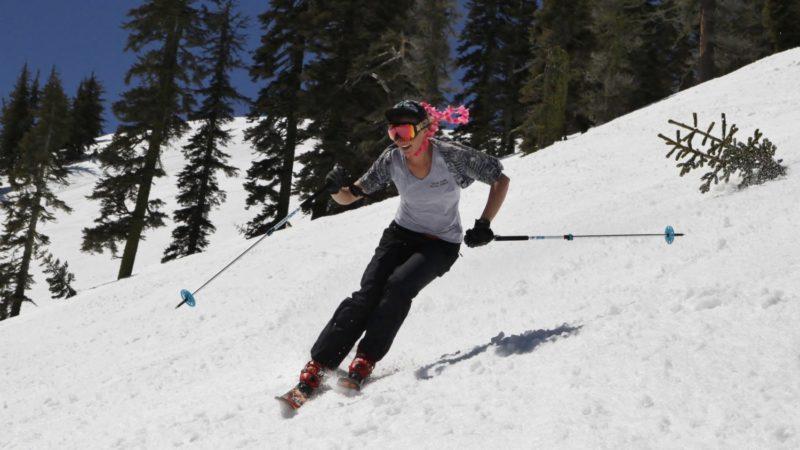 California spring skiing