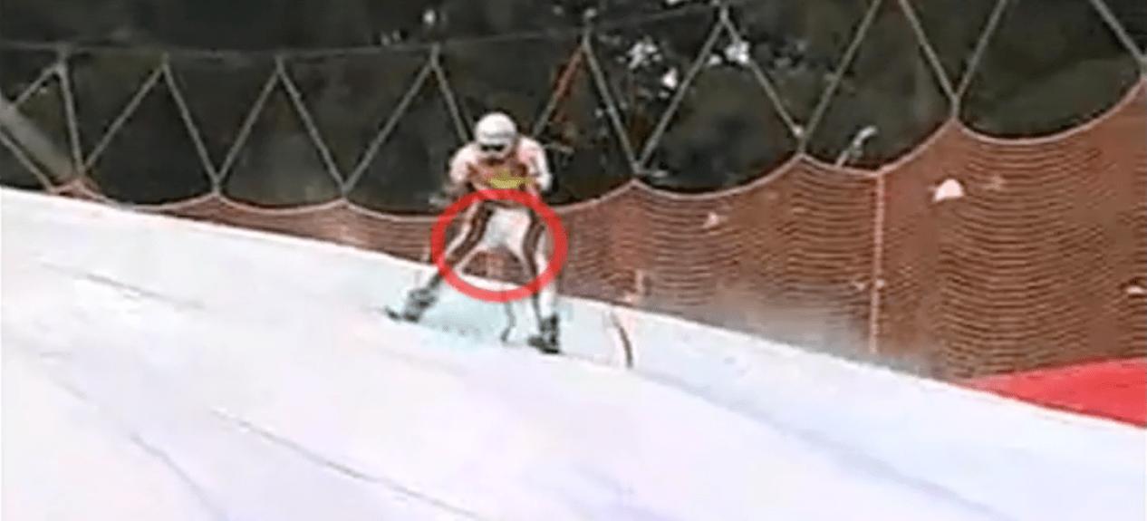 slalom, pain