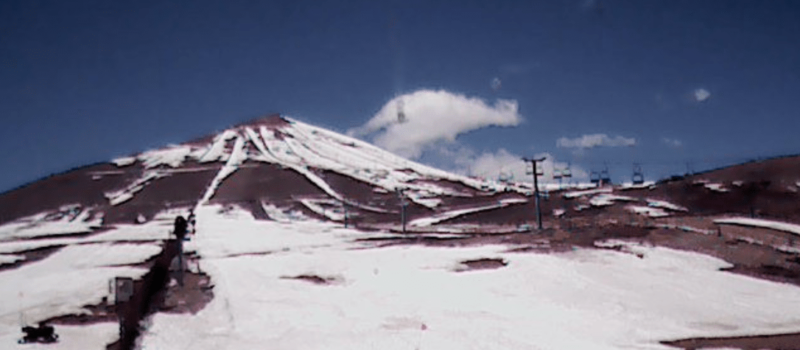 Chile, lack of snow, resorts closed