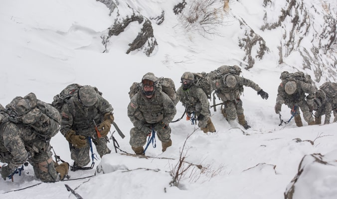 Vermont, army, avalanche,