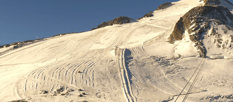 Tignes, france, Europe, glacier, opening