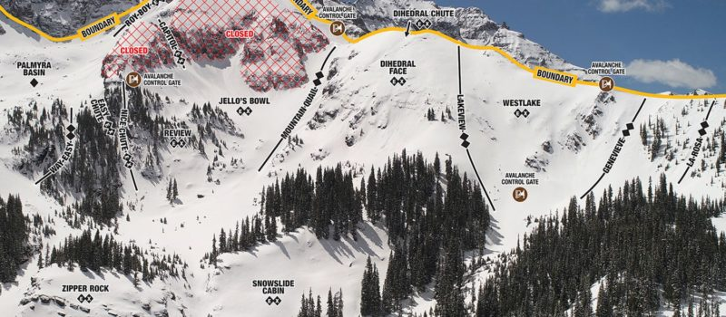 Telluride, colorado, trail map, hike