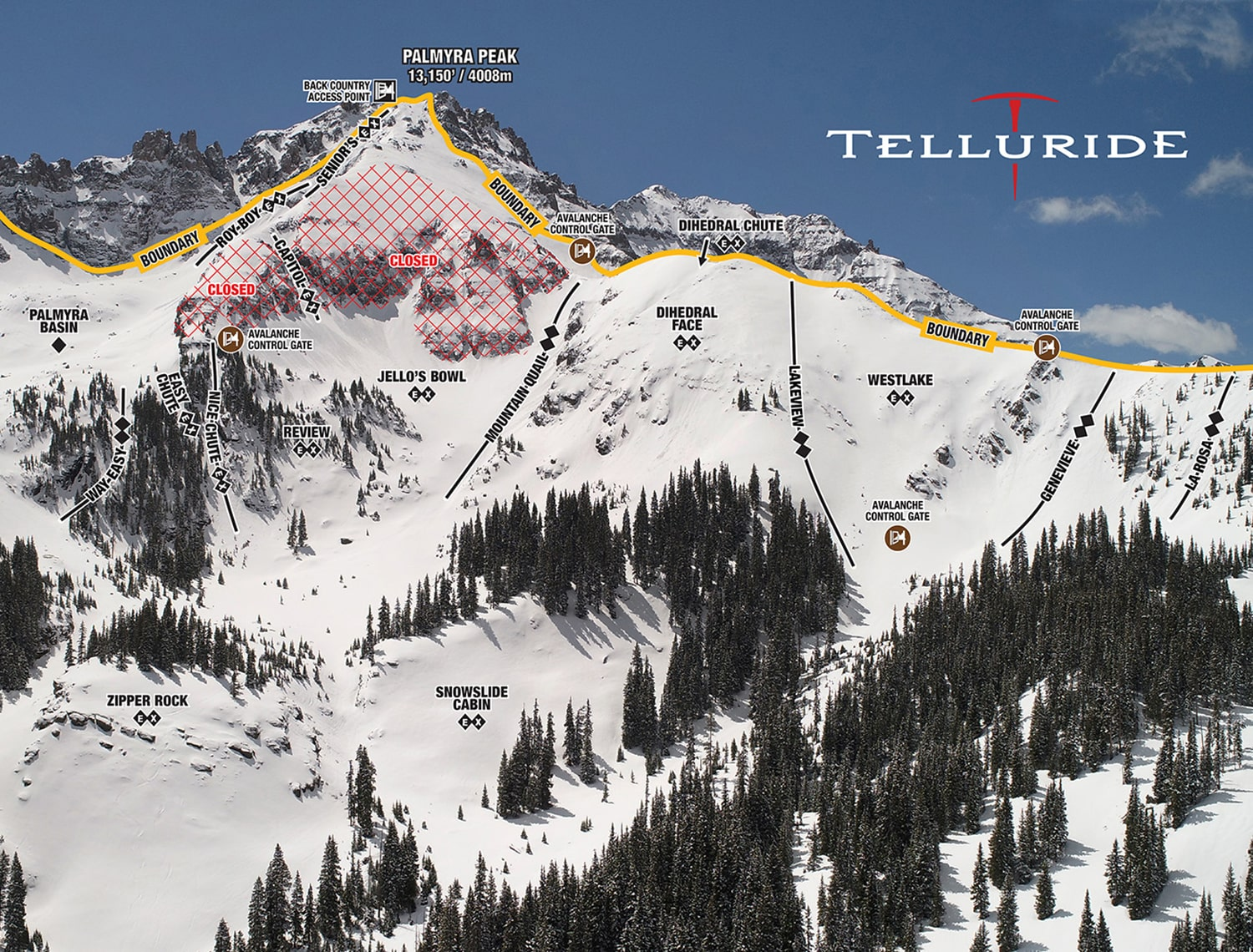 Telluride Ski Resort Co Highlights Sweetest Extreme Lines