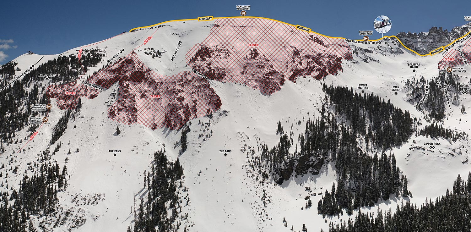 Telluride Ski Resort, CO Highlights Sweetest Extreme Lines ...