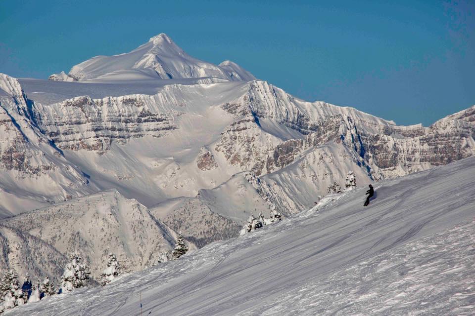 Lake Louise ski resort, best