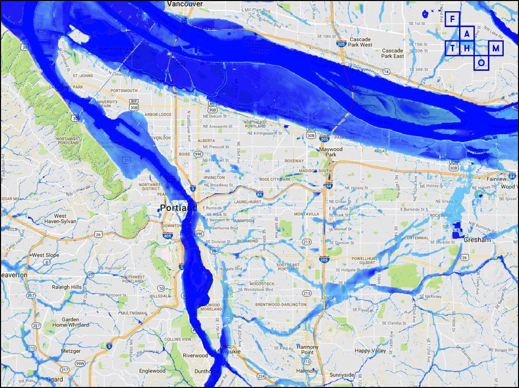Flood basin
