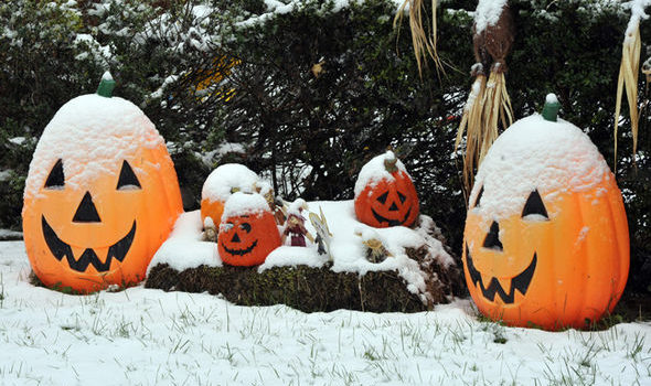 United Kingdom, cold, snow, halloween, coldest 100 years