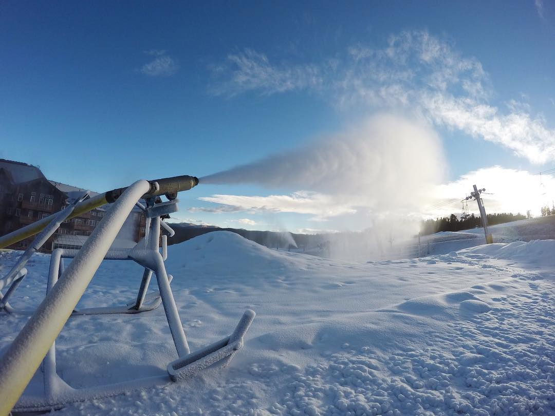 ski resorts have secured water to ensure that they're able to make
