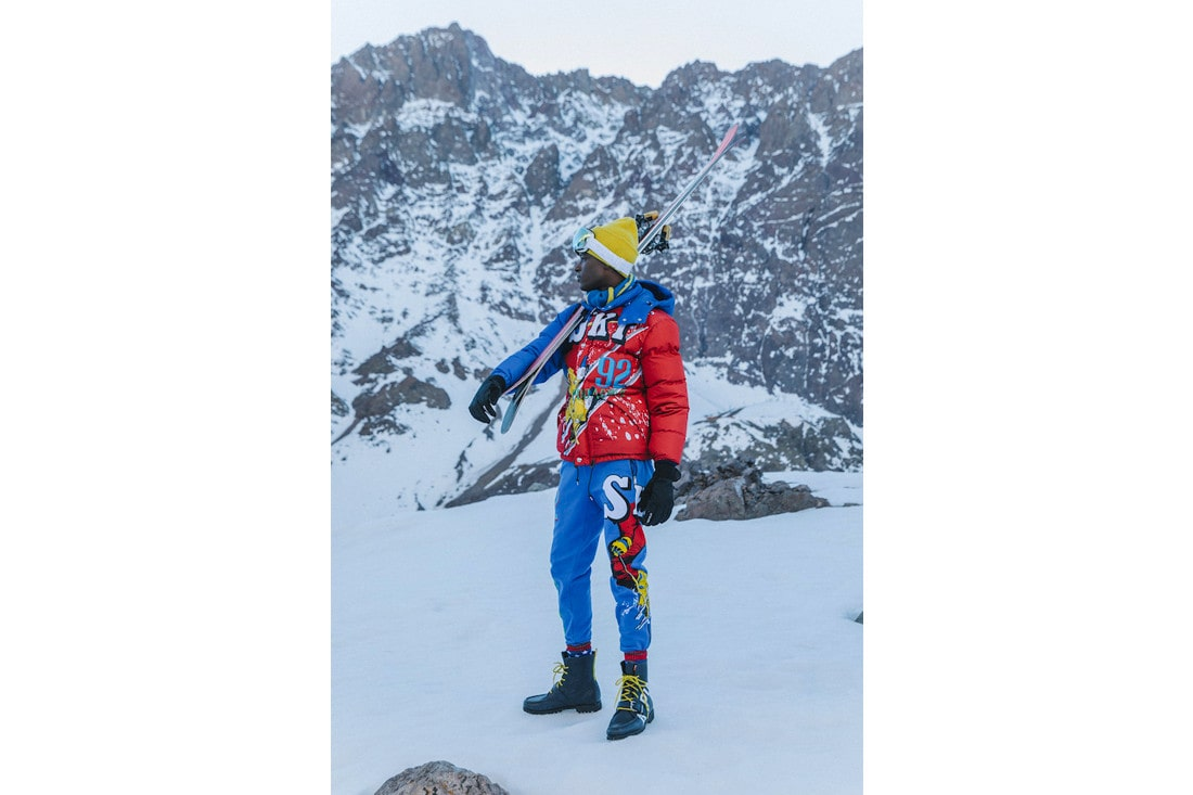would you hit the slopes wearing the latest ski collection