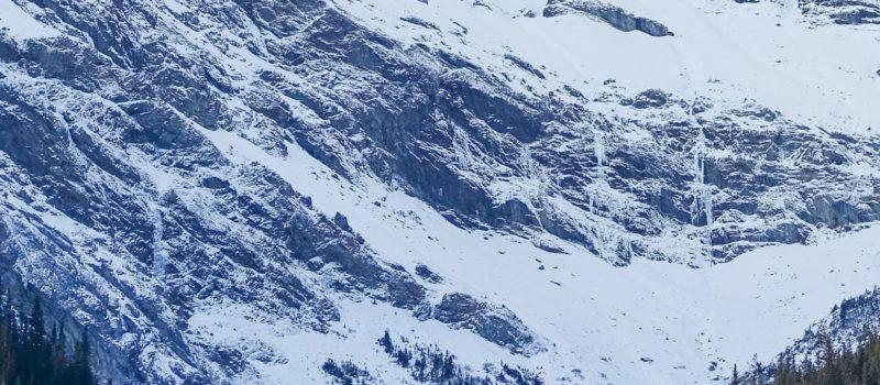 avalanche, Kananaskis country, alberta, canada