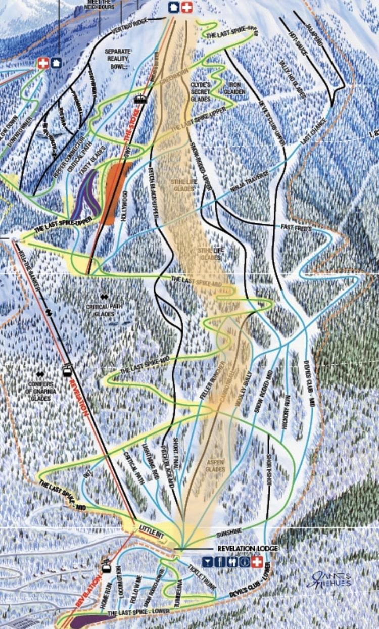 Stihl Life Glades ski run at RMR