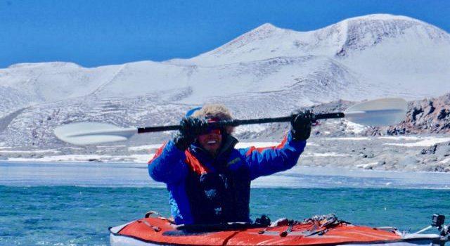 kayak, worlds highest, Chile, andes, volcano