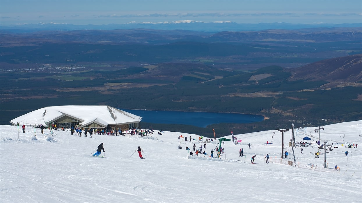 Tourism at CairnGorm brings money to nearby towns