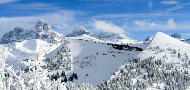 grand targhee, wy conditions report: deepest snowpack in north