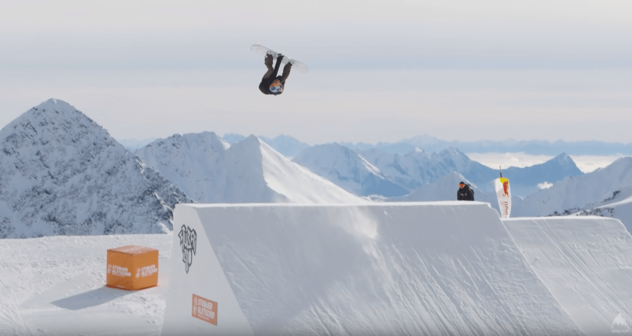 Anna Gasser, triple cork, first woman, snowboard