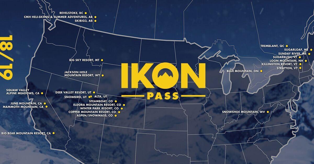 vail resorts, Ikon Pass Resort locations, resort locations, Epic Pass resort locations, Ikon pass