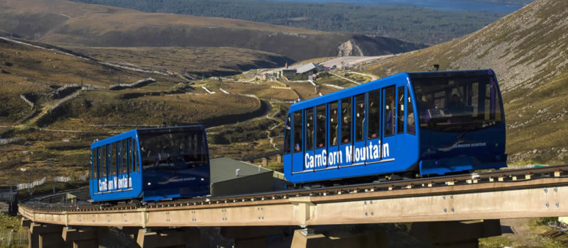 CairnGorm's funicular is a key part of their mountain operations