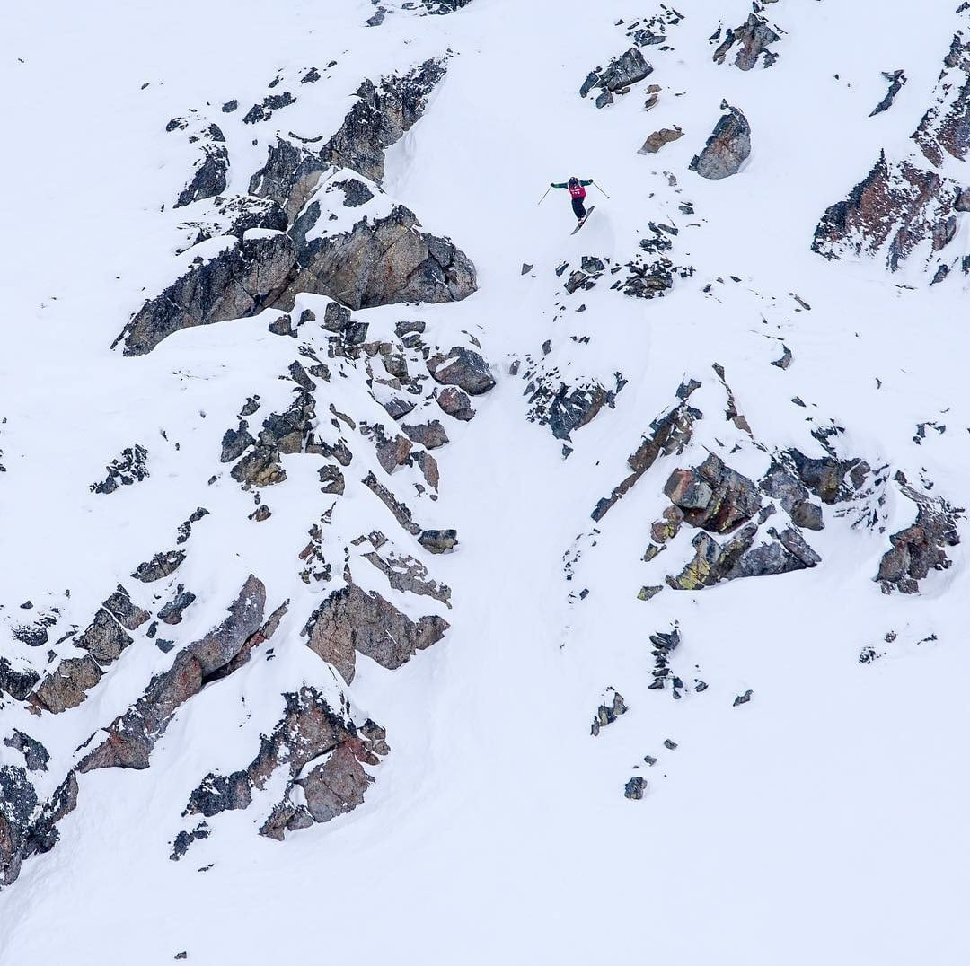 Lake Louise Freeride Competition