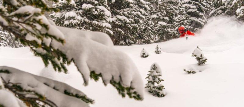 deepest snowpacks, north america