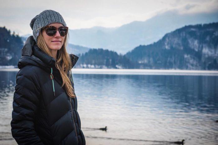 Elyse skier