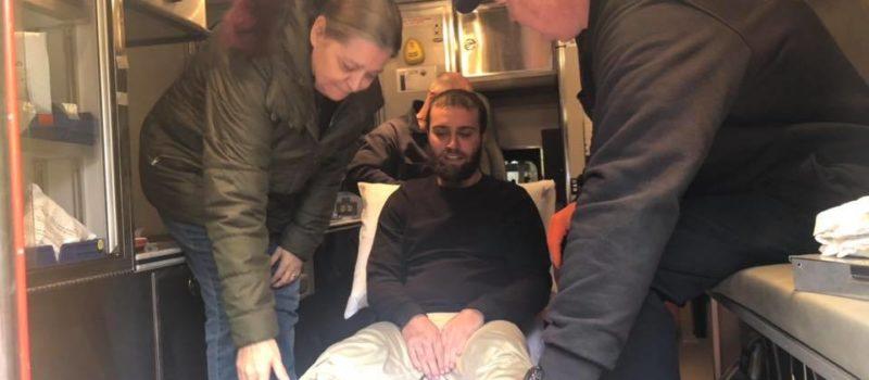 Oregon, snowboarder, found alive