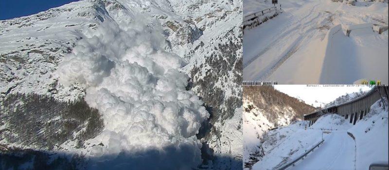 Powder avalanche