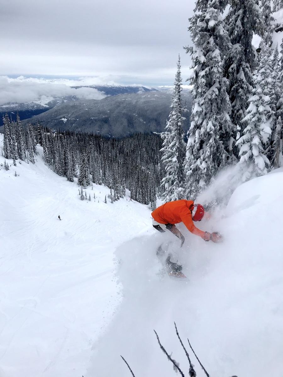 Revelstoke, deepest snowpacks
