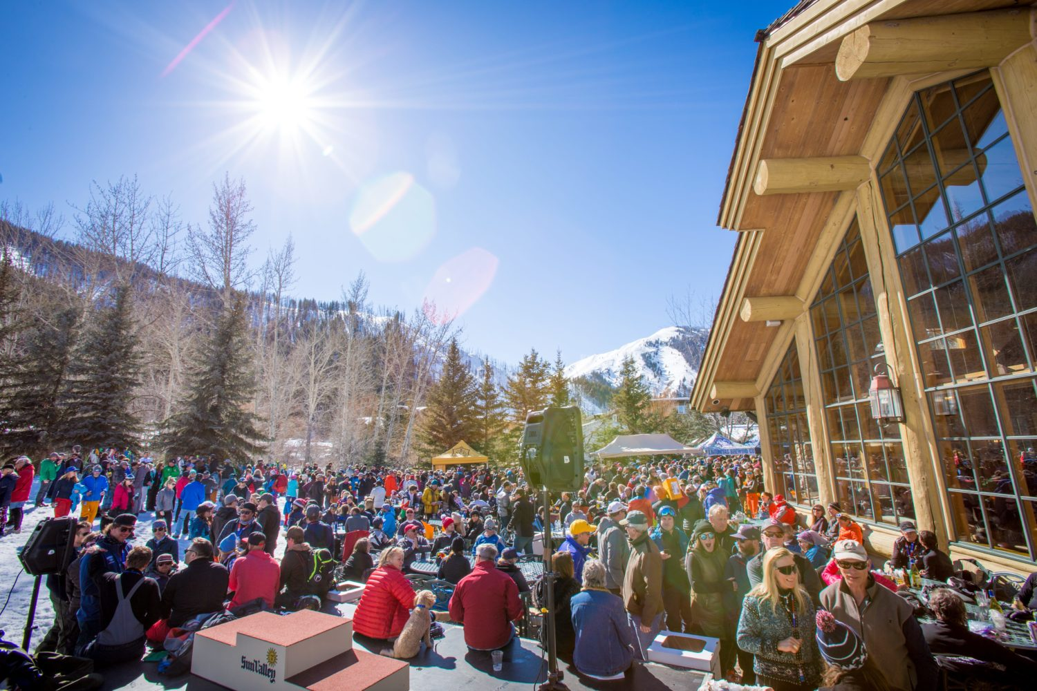 Warm Springs And Dollar Mountain Opening At Sun Valley