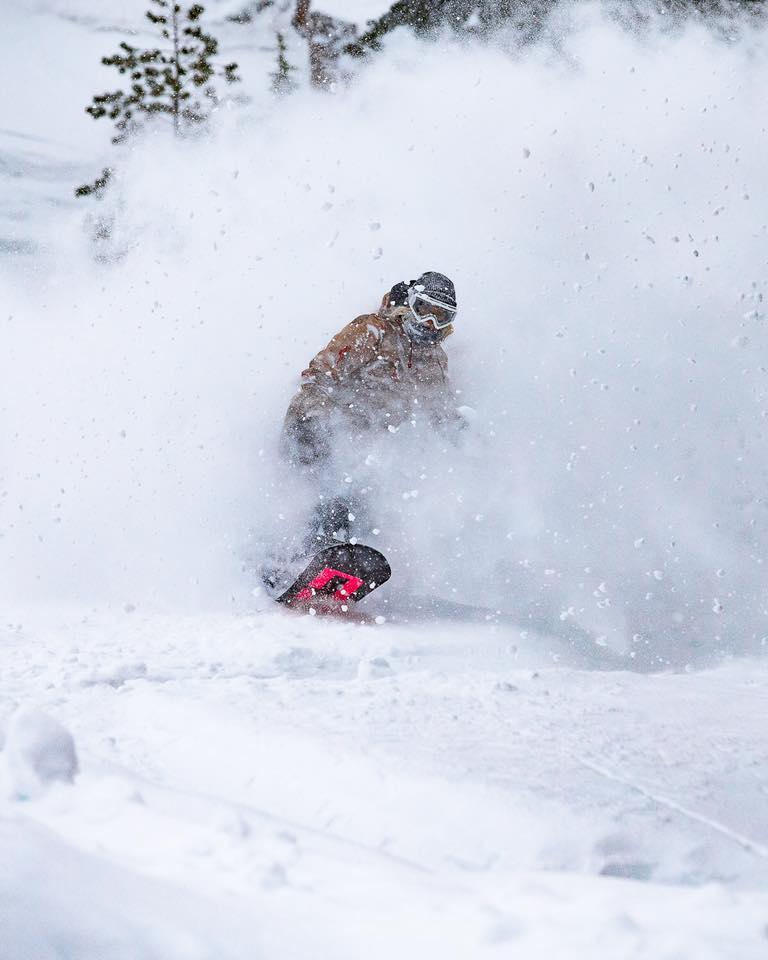 mammoth, deepest snowpacks