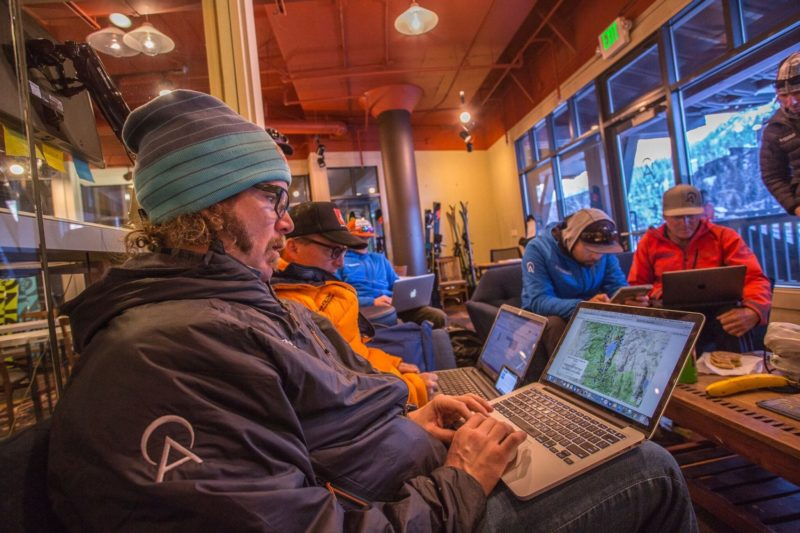 Alpenglow Expeditions, office