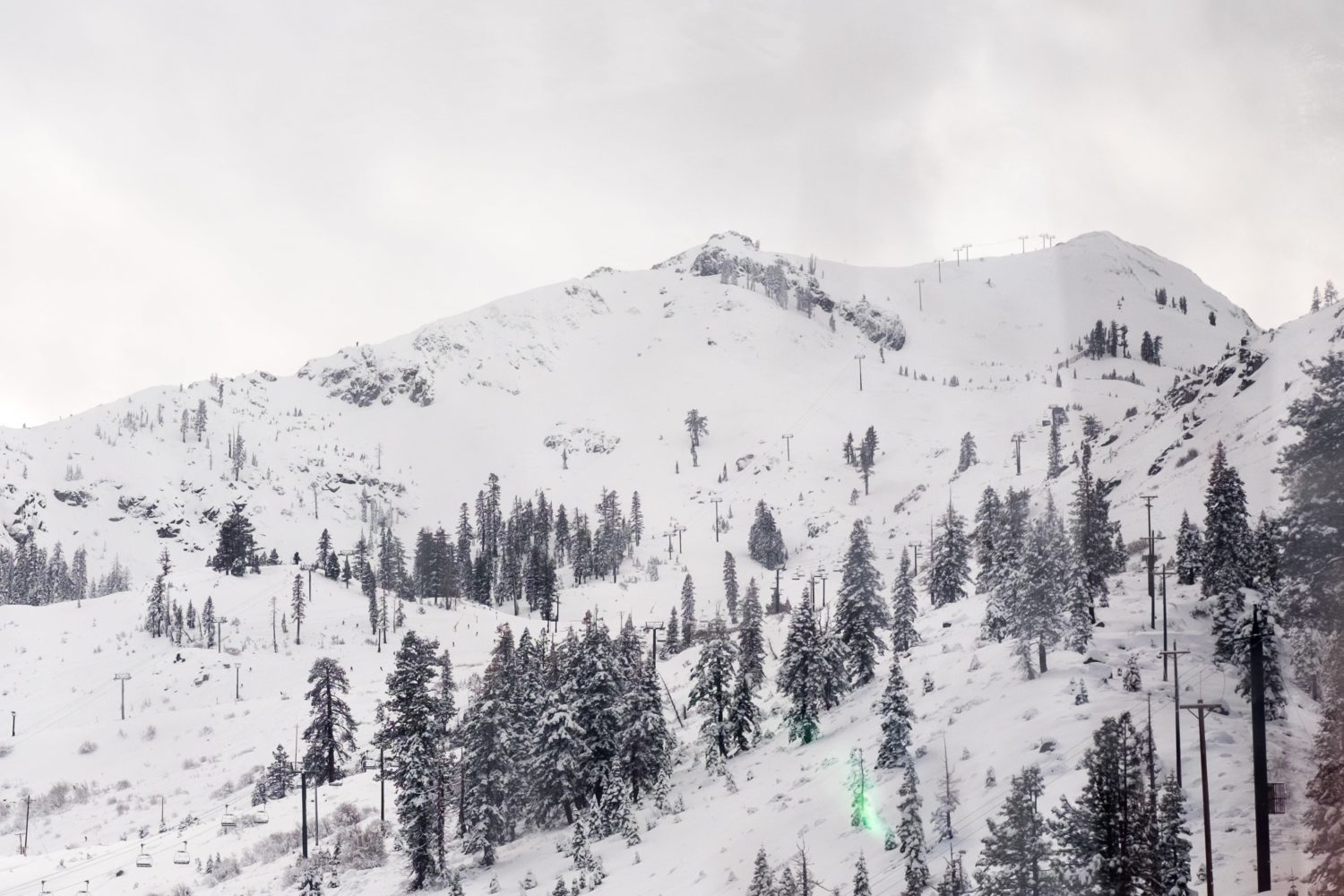 Headwall and mountain run are looking nice and filled in