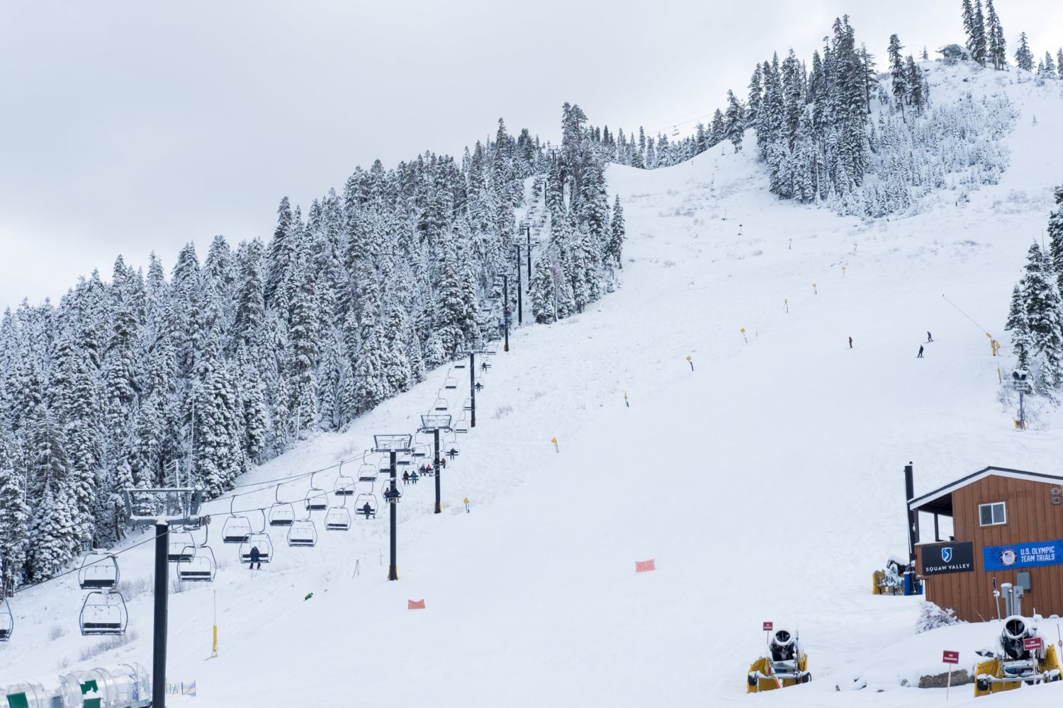 Red Dog and Squaw Creek are both open