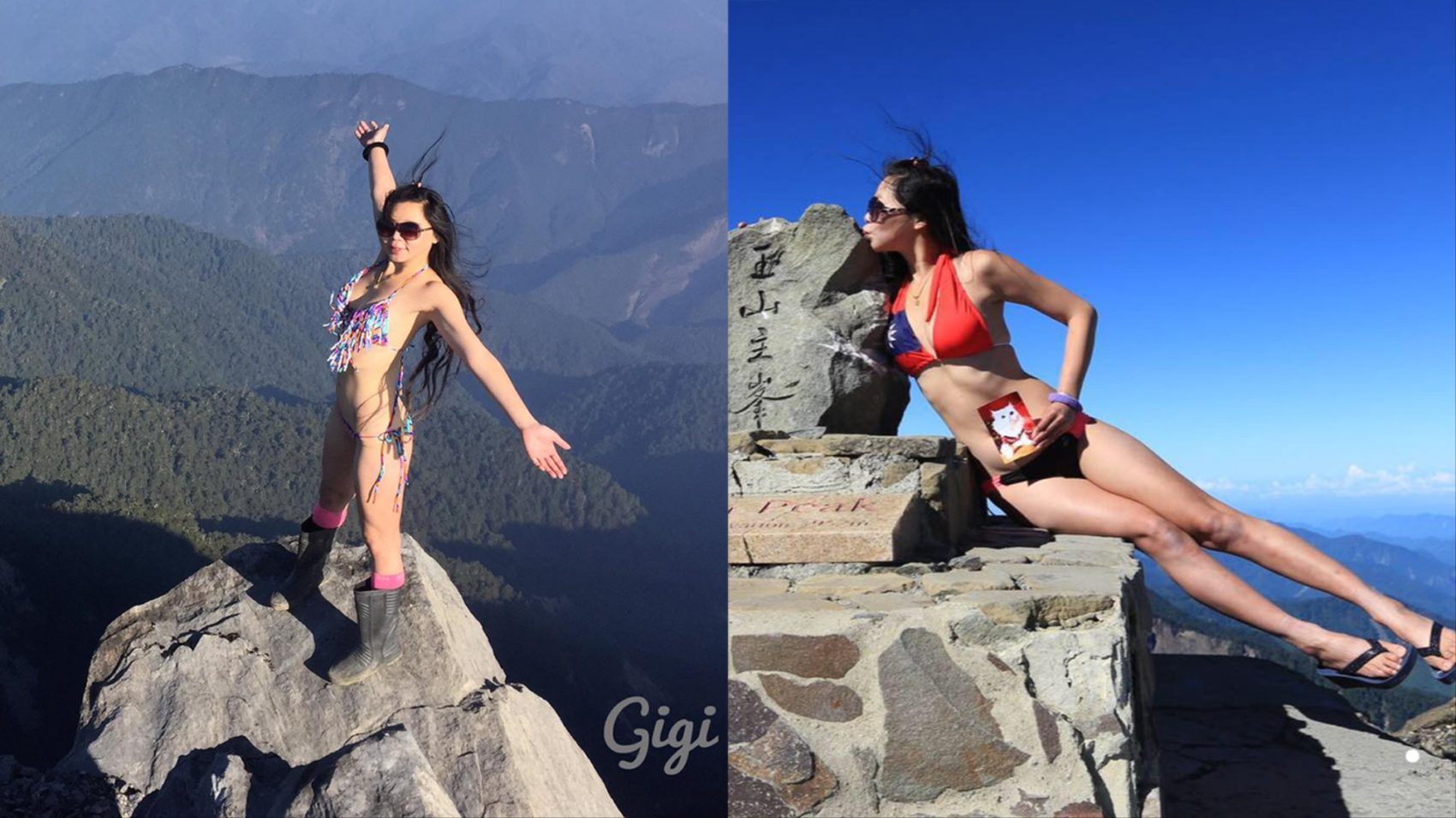social media, fall death, bikini hiker, bikini