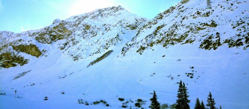 avalanche, langer Zug, Austria,, lech am Arlberg