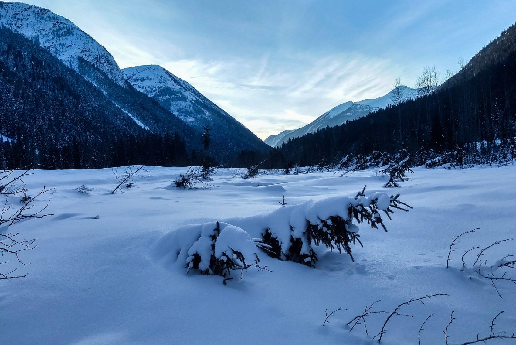 glacier national park landscape