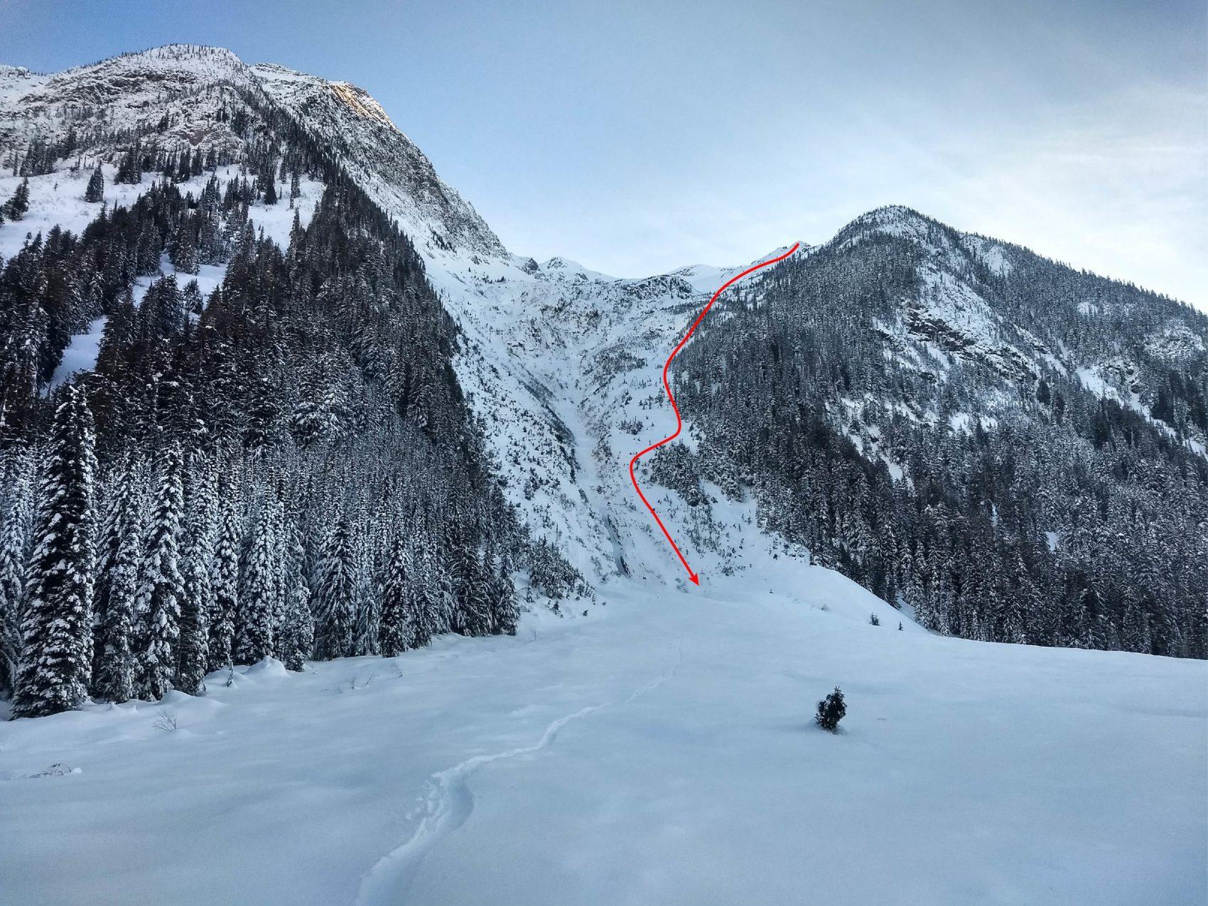 ross peak path