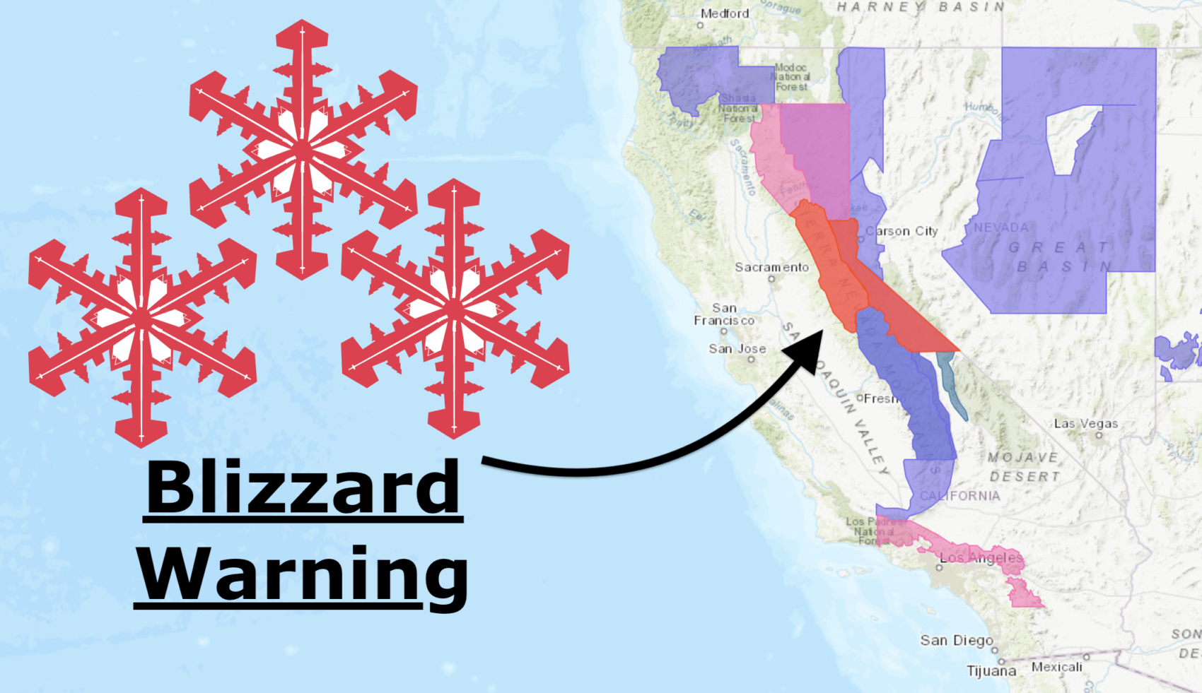 NOAA: California Storm Upgraded | Blizzard Warning Issued | 34-78