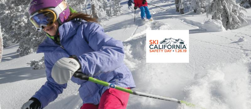 Ski California, safety day