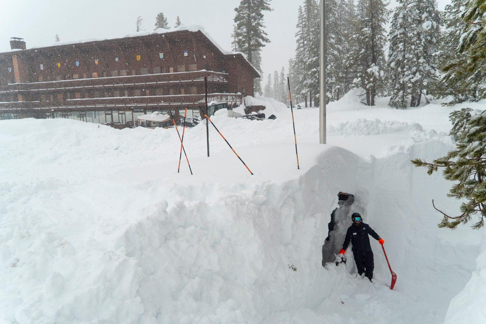 sugar bowl, record snowfall, california