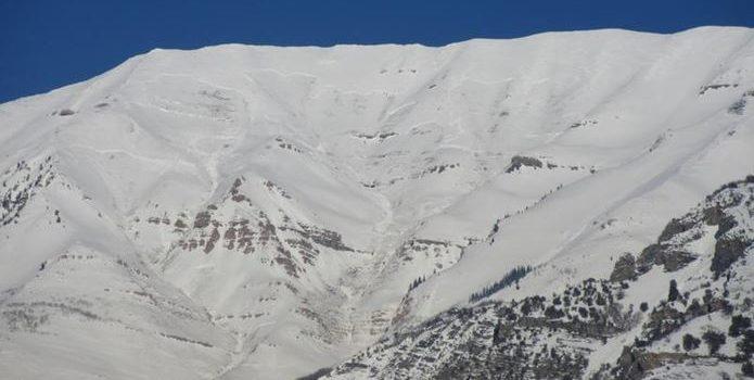 utah, avalanche, snowmobiler