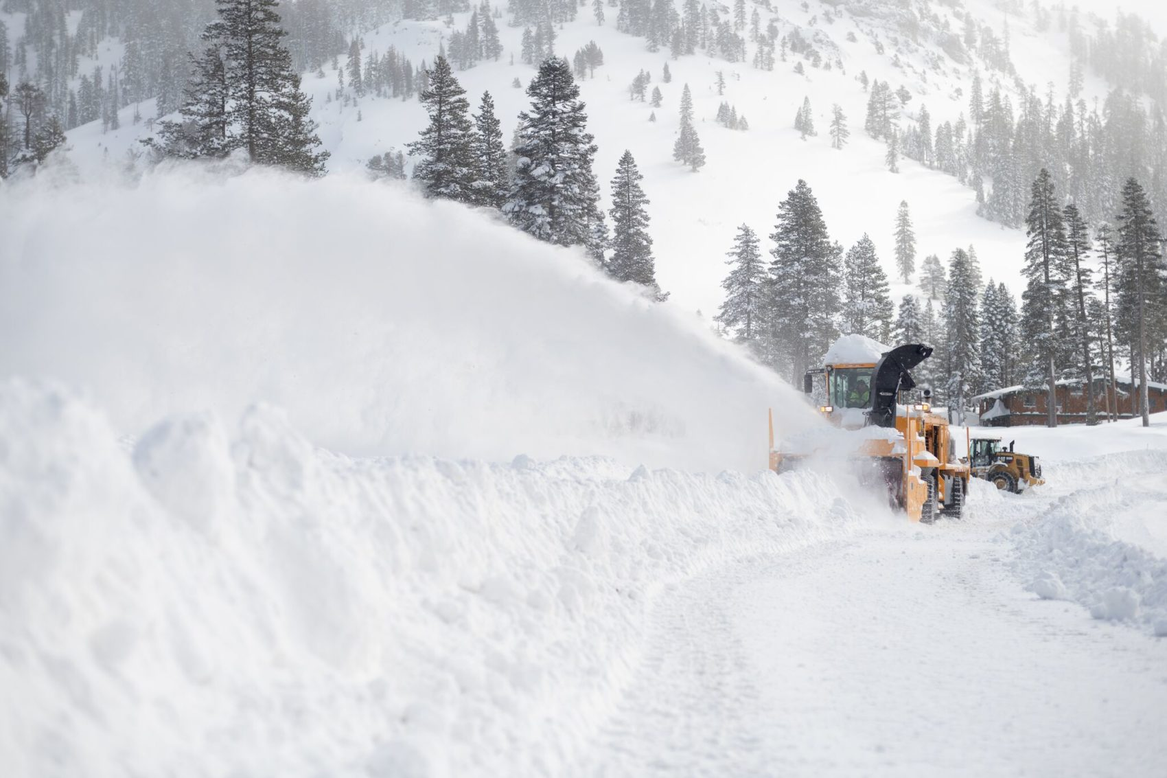 Squaw Valley, alpine meadows, california, snow