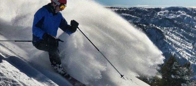 whisper Ridge, Utah, Heli-skiing, black diamond