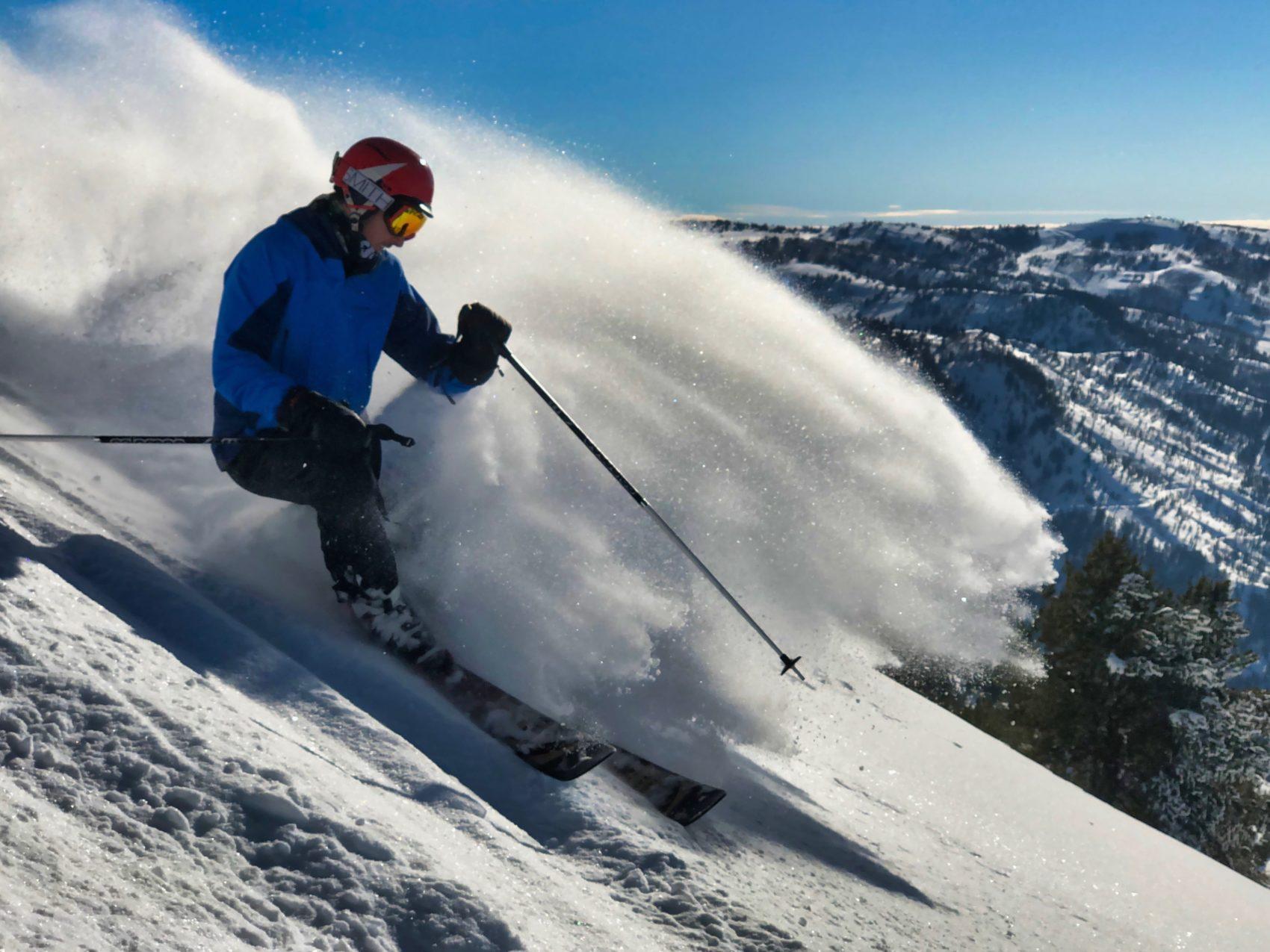 whisper ridge, Heli-skiing, utah