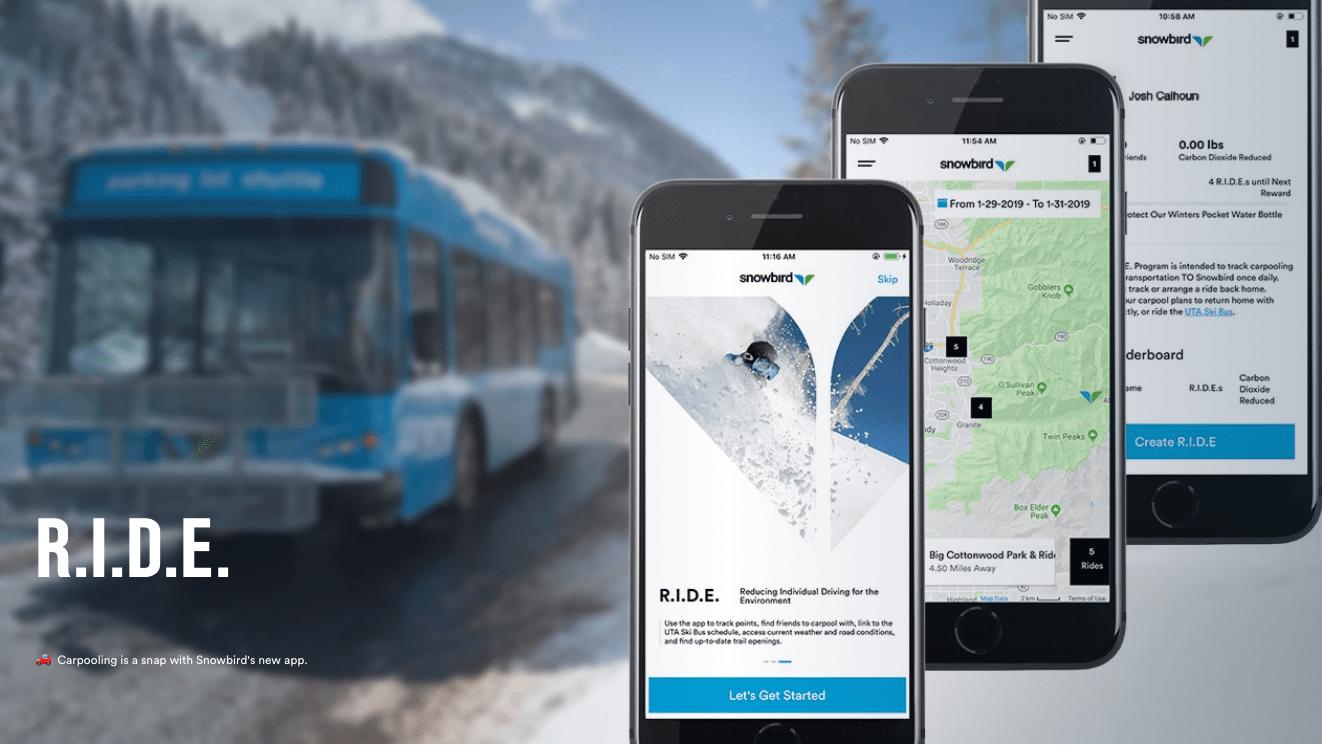 Snowbird Ski Resort Ut Releases Industry First Carpooling App 309