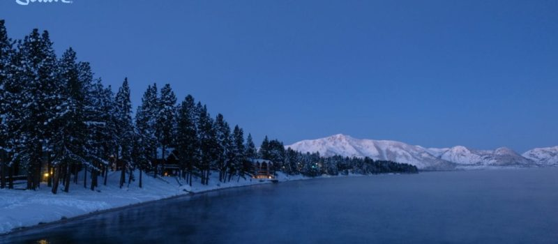 south Tahoe, tahoe, record low