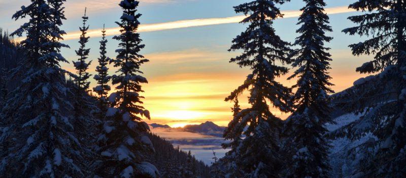 Idaho Peak at sunrise